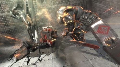 Metal Gear Rising: Revengeance - Screen 01