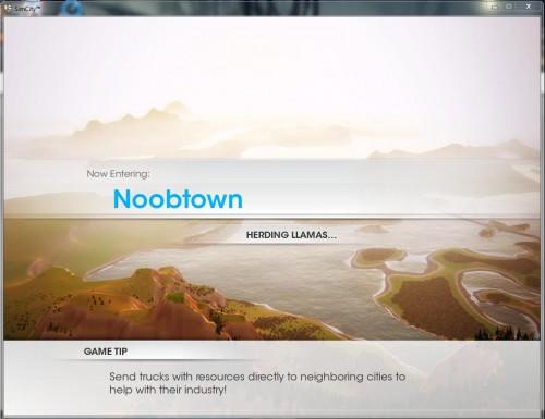 Sim City - Loading Screen