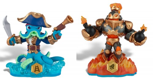 Skylanders SWAP FORCE - Wash Buckler and Blast Zone Toys