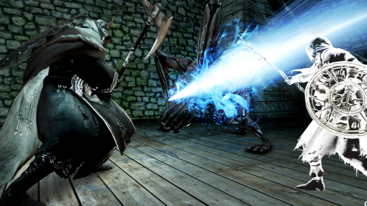 how to use the torch in dark souls 2