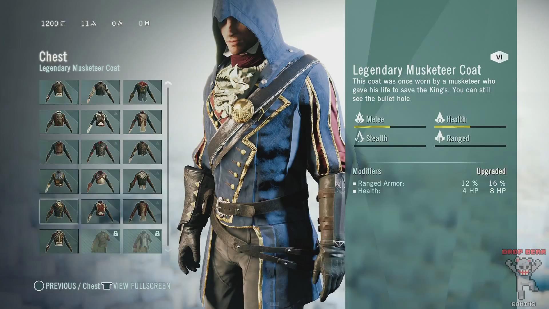 Assassin S Creed Unity Drop Bear Gaming